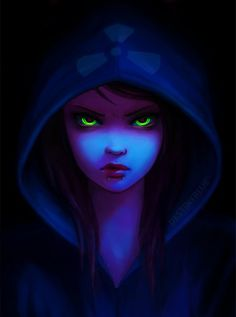 Ara became the darkness. There was nothing else left in her heart.