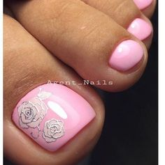 Art Nails – My hair and beauty Pedicure Designs, Pedicure Nail Art, Toe Nail Designs, Toe Nail Art, Pedicure Ideas, Pretty Toe Nails, Cute Toe Nails, Fabulous Nails, Gorgeous Nails