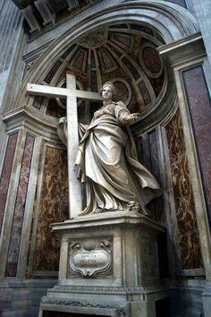 sculpture & statues | italy | vatican city | st peter's