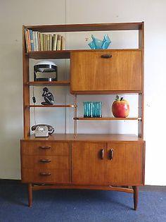 G-plan Librenza Teak Room Divider Bookcase 1960's Model 8888