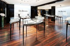 De Beers   Design Concept - CAPS Christophe Carpente, Architecture Interior Design Ltd, Zürich