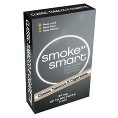 E-sigaretter Classic med 24 mg nikotin