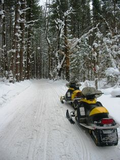 Snowmobile Tug Hill, i've been here, on the same sleds... maybe this is my picture!