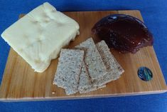 Serve Feijoa Paste with Cheese and Crackers