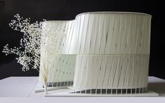 J House, architectural model