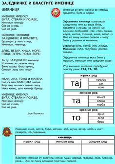 999084_320699094737891_1565505092_n Serbian Language, Dual Language, You Are Invited, Foreign Languages, Anchor Charts, Speech Therapy, Grammar, How To Remove, Teacher
