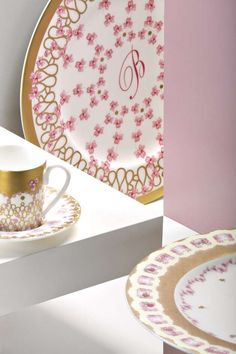 Blumarine Home Collection 2015 - Servizio piatti e caffè Broderie