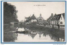 motte au bois - Le canal