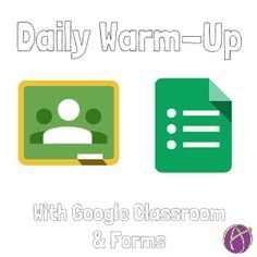"""If you give a daily warm-up, you can use Google Classroom to facilitate the administration. Create a generic Google Form. Link to the live Form view in the """"About"""" tab of Google Classroom. Have students use the same form every day to fill out the """"5 a day."""" Create a Google Form Go to Google … … Continue reading →"""
