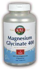 KAL - Magnesium Glycinate, 400 mg, 180 tablets by Kal, http://www.amazon.com/dp/B00013YZ1Q/ref=cm_sw_r_pi_dp_mlYMpb1KQNVEK