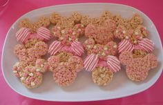Minnie / Mickey Mouse Rice Krispies treats