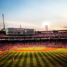 No place more magical than Fenway. Can't wait to take my kids!