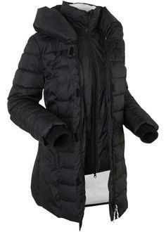 Steppelt kabát • fekete • bonprix áruház  bd1694e208