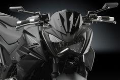 Black Motorcycle Side Mirror Aluminium CNC Rearview For CIRCUIT HONDA Cb1000r Vfr800 Suzuki Bandit Yamaha XJ6 Kawasaki Z800 KTM
