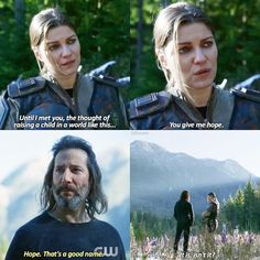 "#The100 5x08 ""How We Get to Peace"""