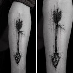 Sketch style arrow by Kamil Mokot