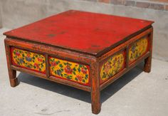 Seth Oliver Grant | Tibetan Furniture For Sale | Original Antique ...