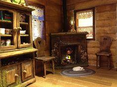 Crockett log cabin progress | Flickr - Photo Sharing!
