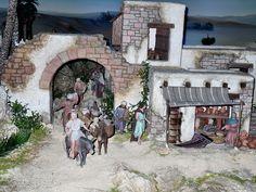 Bethlehem, Minis, Nativity, Videos, Painting, Art, Births, Roof Tiles, Nativity Sets