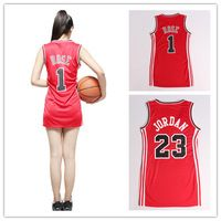 #23 Michael Jordan & Derrick Rose women Basketball Jersey of embroidered ladies clothing free shipping