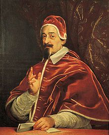 Alexander VII  Papacy began7 April 1655  Papacy ended22 May 1667  PredecessorInnocent X  SuccessorClement IX  Orders  OrdinationDecember 1634  Consecration1 July 1635  byMiguel Juan Balaguer Camarasa  Created Cardinal19 February 1652  Personal details  Birth nameFabio Chigi  Born13 February 1599  Siena, Grand Duchy of Tuscany  Died22 May 1667 (aged68)  Rome, Papal States