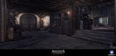 ArtStation - Assassin's Creed Black Flag IV - Multiplayer PortoBelo Map, Pierre FLEAU
