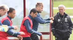 Gallery: Mourinho takes charge of training - Official Manchester United Website
