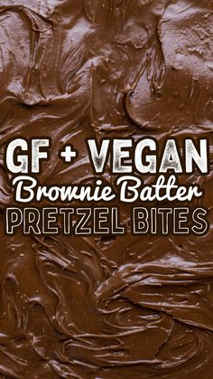 Gluten free, vegan, brownie batter bites with Quinn Whole Grain Pretzels + Hungry Root Brownie Batter - so good! Follow the link to get these pretzels! Gluten Free Pretzels, Vegan Brownie, Brownie Batter, Gluten Intolerance, Pretzel Bites, Tasty, Snacks, Link, Appetizers
