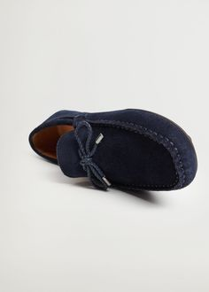 MANGO MAN Schuh 'ft kiowa' in Blau | ABOUT YOU Hermes, Mango, Driving Shoes Men, Fashion Days, Moccasins, Flats, Casual, Interior, Color Azul