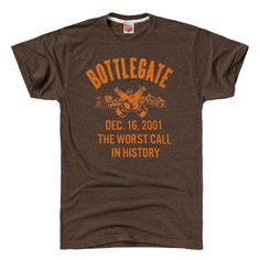 HOMAGE Cleveland Browns Bottlegate Football T-Shirt - $28.00