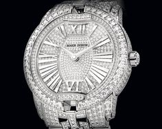 HH Journal: Roger Dubuis Velvet Fine Jewellery in white gold - SIHH 2012 - News - news from the world of watchmaking and luxury watches - Fondation de la Haute Horlogerie