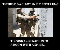 Are you former member of military? Do you want job that can take in your military experience? Military Jokes, Army Humor, Military Life, Army Life, Military Post, Foto Fails, Gi Joe, Marine Corps, Usmc