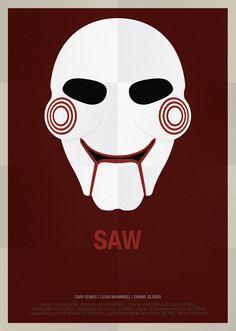 Máscaras famosas de películas hechas póster