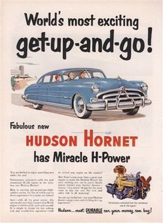 Old car and truck advertisements, Hudson