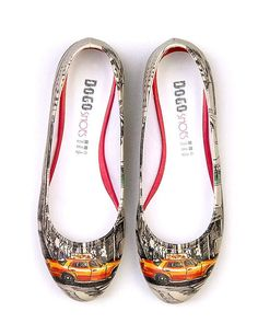 "Product Name Dogo ""Road To Broadway"" Women's Flats at Modnique.com"