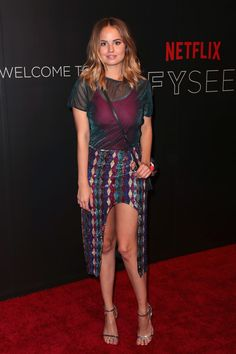 Debby Ryan Photos Photos - Actress Debby Ryan arrives at the Netflix FYSee Kick Off Event at Netflix FYSee Space on May 7, 2017 in Beverly Hills, California. Netflix FYSEE Kick-Off Event - Arrivals