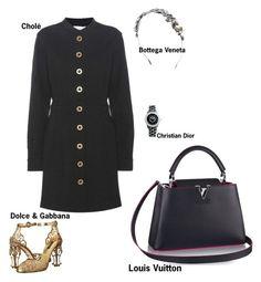 """#fashion #minifashionicon"" by minifashionicon on Polyvore featuring Chloé, Dolce&Gabbana, Bottega Veneta, Christian Dior and Louis Vuitton"