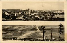 Real Photo Postcard Lidice Before and After Destruction Czech Republic Eastern Europe Photo Postcards, Eastern Europe, Military History, World War Two, Destruction, Homeland, Czech Republic, Wwii, Vintage Photos