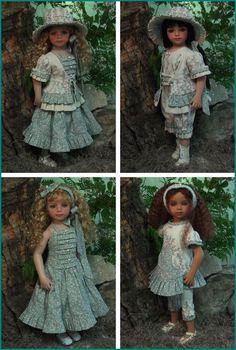 "MHD Designs - 2012 Summer Collection - ""Secret Garden"" for 19.5 Inch Maru and Friends"