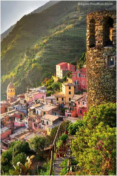 Vernazza, Cinque Terre, Italy by Agnes Proudhon Smith #italyphotography