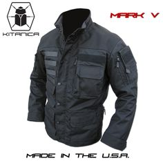 Lots of pockets for weapon and cool design. Apocalypse in style. Kitanica Mark V jacket