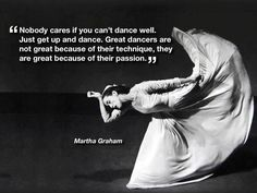 Martha sums it up #whydancematters