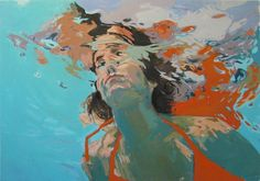 """WANT: """"coming up for Air,"""" Samantha French, on Etsy http://www.etsy.com/listing/66661966/coming-up-for-air-large-print-wmat"""