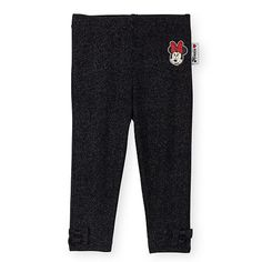 """Disney Baby Girls Black Sparkle Knit Legging with Minnie Mouse Applique and Ankle Bow Detail - Babies R Us - Babies """"R"""" Us Cute Princess, Princess Outfits, Girl Outfits, Disney Baby Clothes, Baby Disney, Black Sparkle, Knit Leggings, Little Babies, Cute Kids"""