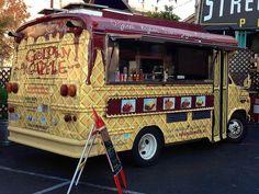 Golden Waffle truck at SOMA StrEat Food Park in San Francisco