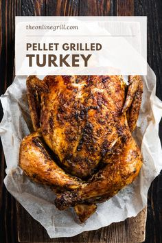 4 reviews · 4.5 hours · Gluten free Paleo · This pellet grill turkey recipe is one of the best ways to make smoked turkey. Cooked over wood pellets, this turkey makes for the perfect BBQ dinner. Find out everything you need to know about turkey… More