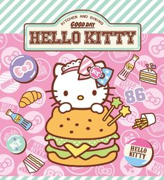 Hello Kitty burger