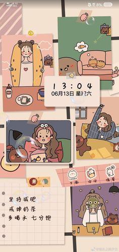 Cute Pastel Wallpaper, Cute Patterns Wallpaper, Cute Anime Wallpaper, Aesthetic Pastel Wallpaper, Cute Wallpaper Backgrounds, Pretty Wallpapers, Cartoon Wallpaper Iphone, Anime Scenery Wallpaper, Cute Cartoon Wallpapers