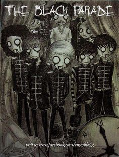 My Chemical Romance- Tim Burton form. Flipping amazing.