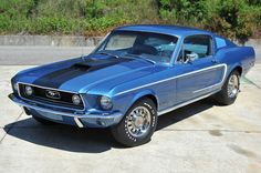 1968 Ford Mustang 428 Cobra Jet R Code GT Fastback 1